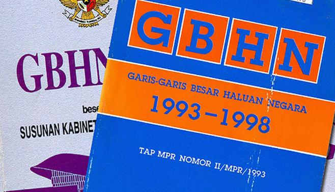 Pengertian GBHN : Fungsi Dalam Pembangunan Nasional
