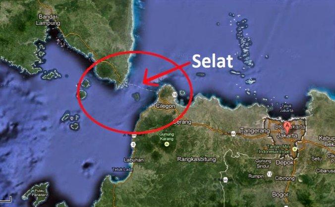 Pengertian Selat : Jenis Selat di Indonesia